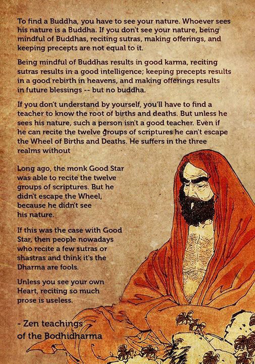 Bodhidharma Zen Teaching
